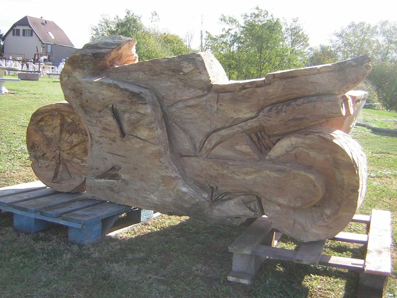 Spécial bois # Sculpture En Bois Facile